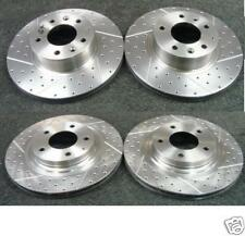 FOR MAZDA RX7 2.6TURBO FD BRAKE DISC CROSS DRILLED GROOVED BRAKE DISC FRONT REAR
