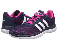adidas Cloudfoam Speed Womens UK 4.5 EU 37.5 Navy White Pink New Sports Trainers
