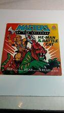Masters Of The Universe He-man & Battle Cat Kid Stuff KSR 613 Storybook