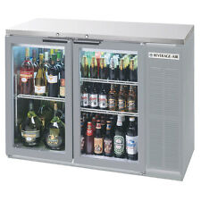 """Beverage Air Bb58Hc-1-G-S 58"""" Refrigerated BackBar Storage Cabinet"""