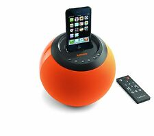 Lenco station d'accueil enceinte dock réveil ipod iphone 3 4 ipod 30 broches