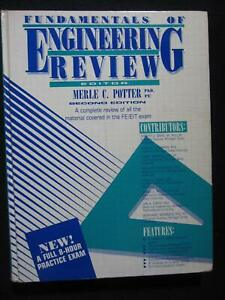 Fundamentals of Engineering: A Complete Review for the EIT Exam (1987,Hardcover)