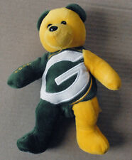 GREEN BAY PACKERS NFL beanie bear TEAM BEARS AUTHENTIC