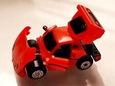 Micro Machines Galoob 1989 - Red Ferrari Deluxe Car