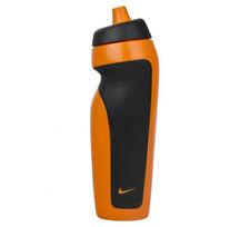 Nike 600ml Water Bottle Training Hydration Sports Drink BPA Orange Mango