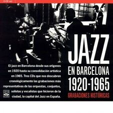 JAZZ EN BARCELONA: 1925-1965 GRABACIONES HISTORICAS (3-CD BOX SET)