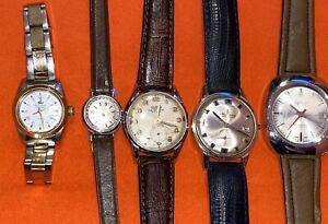 lotto orologi vintage  swiss made