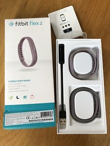 Fitbit Flex 2, Lavender, Water Resistant Fitness Wristband, Boxed