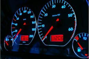 Volkswagen Golf 3 Design 3 glow gauges dials plasma dials kit tacho glow dash sh