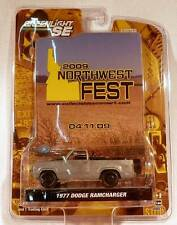 Greenlight 2009 Northwest Fest 1977 Dodge Ramcharger RAW Zamac #'d/480 RARE