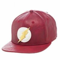 DC Comics Flash PU Snapback Cap - AU STOCK