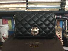 Kate Spade Gold Coast Meadow Shoulder Handbag Black Shimmer