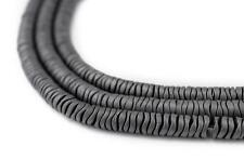 Grey Hematite Interlocking Snake Beads 4mm Unusual Stone 16 Inch Strand