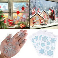 Christmas Snowflake Static Window Sticker Wall Decal Xmas Removable Decoration