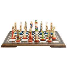 Studio Anne Carlton Chess Egyptian Handpainted