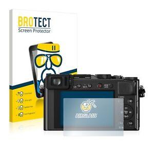 Panasonic Lumix DMC-LX100, BROTECT® AirGlass® Premium Glass Screen Protector