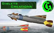 03. Fireball XL-5 inspired 3D printed Model Kit