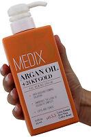 Medix 5.5 Argan Oil + 24KT Gold Age Rewind Cream 15 Fl Oz (444mL)