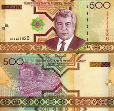 TURKMENISTAN 500 Manat Banknote p-19 UNC