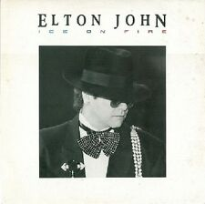 ELTON JOHN Ice On Fire LP Vinyl Record Album 33rpm Rocket 1985