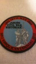 Junior Civil War Historian Patch NEW