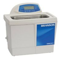 Branson CPX3800H 1.5 G Ultrasonic Cleaner w/ Digital Timer Heater Degas Temp Mon