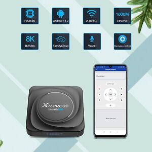 X88 PRO 20 Android 11.0 TV-Box 8+128GB 8K RK3566 2,4G / 5G WLAN 1000M LAN F0N7
