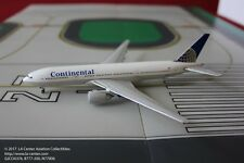 Gemini Jets Continental Boeing 777-200ER in Pre-Merger Color Diecast Model 1:400