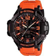 CASIO G-Shock Watch Orange Band GA1000-4A Water Resistant