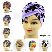 Chemo Hijab Turban Cap Fashion Beanie Hat Scarf Summer Women Bonnet Cancer