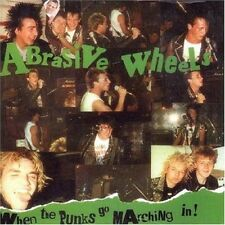 ABRASIVE WHEELS - WHEN THE PUNKS GO...  CD NEU