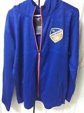 Mens FC Cincinnati - Rise Together - Full Zip Blue Jacket Hoodie - NWT - XL