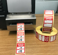 / now Price Stickers / Labels For Use With Thermal Printers