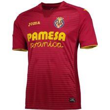 Solo maglia da calcio di squadre spagnole lunghezza manica manica corta villarreal