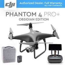 "DJI PHANTOM 4 PRO+ PLUS DRONE 4K 20MP + 5.5"" DISPLAY. BLACK OBSIDIAN EDITION"