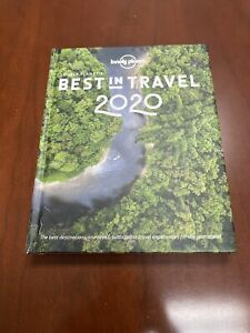 Lonely Planet's Best in Travel 2020, Hardcover, Brand New