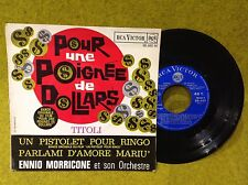 FRENCH EP BO OST  - POUR UNE POIGNÉE DE DOLLARS- ENNIO MORRICONE- RCA 86.480