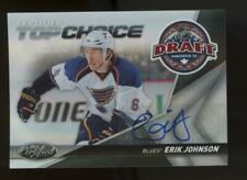 2010 Panini Certified Choice Erik Johnson 05/10 RC Auto