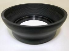 67mm Collapsible Rubber Lens Hood double threaded for 70-210mm f3.5