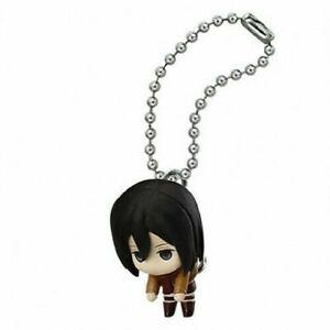 New Attack on Titan Mikasa Ackerman Authentic keychain Figure - US Seller