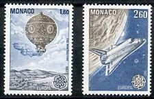 STAMP / TIMBRE DE MONACO N° 1365/1366 ** EUROPA / AVIATION / ESPACE