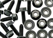 Body Bolts & Barbed Nuts- M6-1.0 x 20mm Long- 10mm Hex- 40 pcs (20ea)- LD#126F