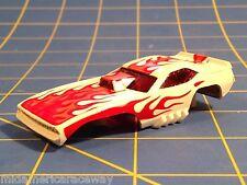 AURORA HO SCREECHER FLAMIN CUDA slot car body afx B5804 From Mid-America Raceway