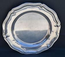 CHRISTOFLE PLAT ROND Silverplate  EN METAL ARGENTE DIAM 35CM