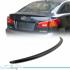 Painted For Lexus IS250 IS350 OE Rear Trunk Boot Spoiler 202 Black