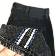 Levis 501 LMC Made Crafted Selvedge Denim Jeans Black Men MSRP $148