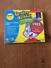 Reader Rabbit 1st Grade Favorites Reading Spelling Phonics & Math New 2 Cd Set