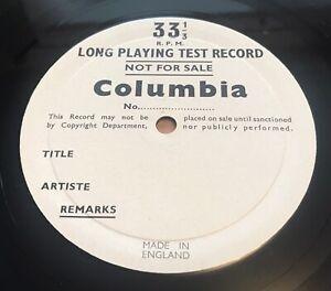 *UNRELEASED* UK COLUMBIA *JOSE ITURBI* - SOLO PIANO RECITAL 2 X TEST PRESSINGS
