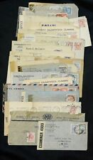 Argentina 34 wwii Era CoverS Healthy Mix of Censored Examined Letters See Pics