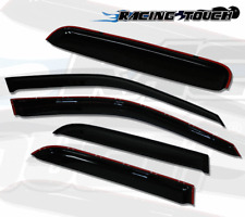Sun roof & Window Visor Wind Guard Out-Channel 5pcs For 2013-2015 Acura ILX